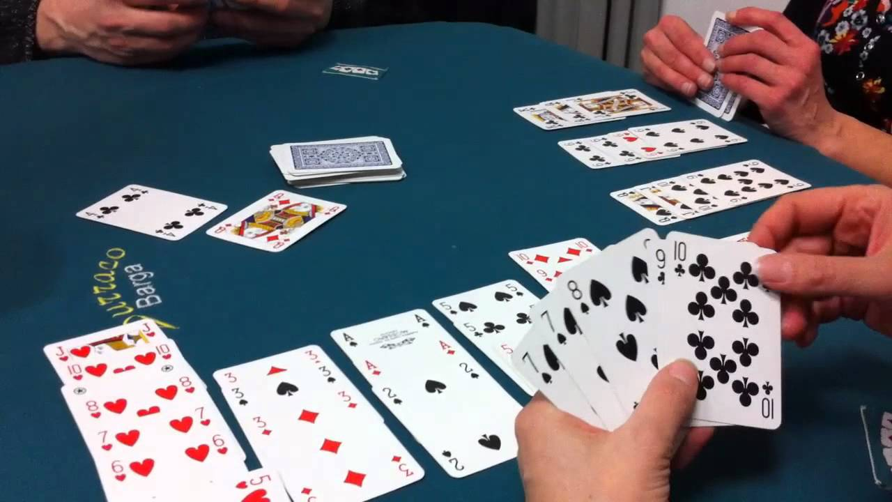 giochi di carte burraco