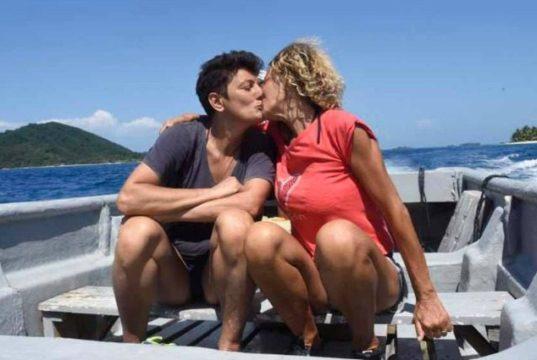 Imma Battaglia ed Eva Grimaldi