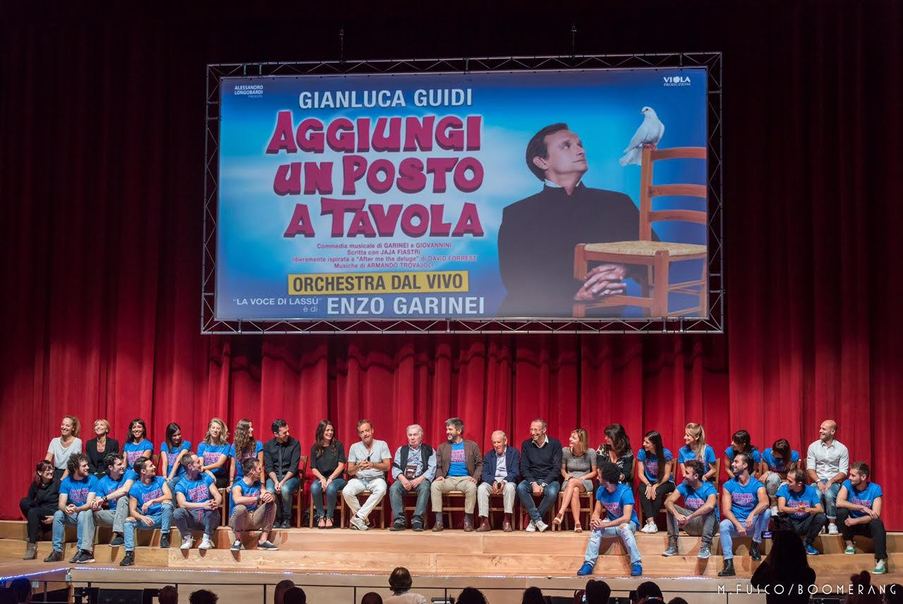 Aggiungi un posto a tavola torna in scena al teatro brancaccio di roma dal 12 ottobre ultime - Aggiungi un posto a tavola musical ...