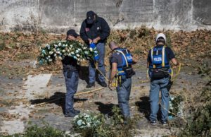 La corona di fiori della Lazio