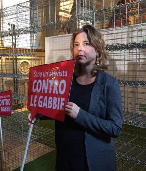 Giulia Grillo ad End the Cage Age