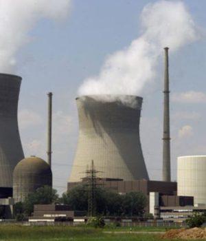 Una centrale nucleare