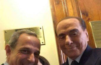 Francesco Giro e Silvio Berlusconi