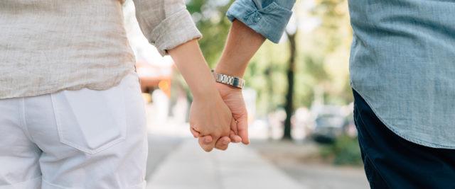 Una coppia di fidanzati