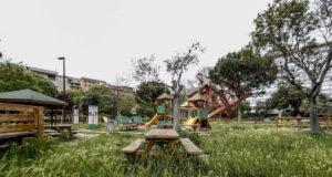 Un parco giochi di Roma