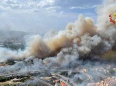 Incendio Abruzzo