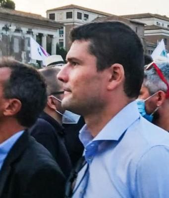 Stefano Fassina e Giuseppe Libutti