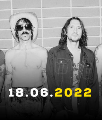 Red Hot Chili Peppers a Firenze Rocks 2022
